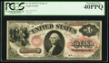 Large Size:Legal Tender Notes, Fr. 25 $1 1875 Legal Tender PCGS Extremely Fine 40PPQ....
