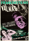 "Movie Posters:Horror, The Ghost of Frankenstein (Universal, 1942). Swedish One Sheet (27.5"" X 39.25"").. ..."