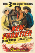 "Movie Posters:Western, New Frontier (Republic, 1939). One Sheet (27"" X 41"").. ..."