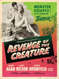 "Movie Posters:Horror, Revenge of the Creature (Universal International, 1955). SilkScreen Poster (30"" X 40"").. ..."