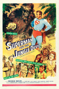 """Movie Posters:Action, Superman and the Jungle Devil (20th Century Fox, 1954). International One Sheet (27"""" X 41"""").. ..."""