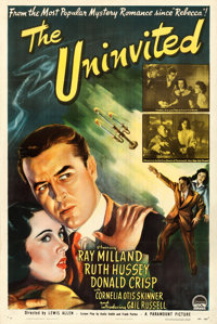 "The Uninvited (Paramount, 1944). One Sheet (27"" X 41"")"