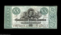 Confederate Notes:1861 Issues, T21 $20 1861. This is a common enough note in grades up through Extremely Fine, but very difficult to find in truly high gra...