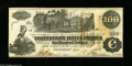 Confederate Notes:1862 Issues, T39 $100 1862. This Crisp Uncirculated C-note has 1863 and 1865Interest Paid stamps on the back. From the Collection...