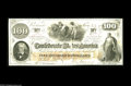 "Confederate Notes:1862 Issues, T41 $100 1862. This lightly circulated Scroll One $100 is printedon ""CSA"" block watermarked paper. This is another Trans-Mi..."