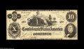 Confederate Notes:1862 Issues, T46 $10 1862. A lovely example from the Angenend holdings. It'swell margined, bright, and flawless in all respects. Choic...