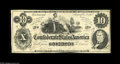 Confederate Notes:1862 Issues, T46 $10 1862. Corner tip bends are the only distractions to thisnote having the full Choice to Gem grade. Choice About Un...