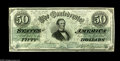Confederate Notes:1862 Issues, T50 $50 1862. A well margined and most attractive specimen which is certain to please. While this type does come nice, it se...