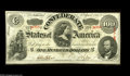 Confederate Notes:1863 Issues, T56 $50 1863. A gorgeous Choice Crisp Uncirculated Lucy Pickensnote with a broad lower margin and a slighty tighter top...