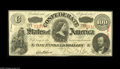 Confederate Notes:1863 Issues, T56 $100 1863. A bright Crisp Uncirculated example....