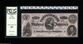 Confederate Notes:1863 Issues, T56 $100 1863. A single, nearly unnoticeable fold accounts for thegrade, though this Lucy Pickens note boasts the eye appea...