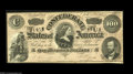 Confederate Notes:1864 Issues, T65 $100 1864. Light handling is found on this C-note that carries a portrait of Lucy Pickens, the Queen of the Confederacy....