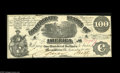 Confederate Notes:Group Lots, Two Confederate Hundreds including T13 $100 1861 AU T65 $100 1864AU. Light handling is detected on both notes, w... (2 notes)
