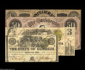 Confederate Notes:Group Lots, Confederate & Obsolete Advertising Notes from Atlanta, Georgiaincluding North Georgia Fair 1878 Ad Note - Host Note Ge... (4notes)