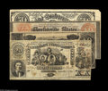Confederate Notes:Group Lots, Four Advertising Notes Late 1800s including (Atlanta, GA)- Atlantic& Great Western Route Ad Note - Host Note Genuine C... (4notes)