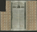 Confederate Notes:Group Lots, Ball 160 Cr. 119 $1000 1863 Bond Very Fine. This is one of thefabled bonds of the Confederacy as it was floated overseas i...