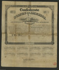 Confederate Notes:Group Lots, Ball 270 Cr. 131 $100 1863 Bond Very Good. This is a rare bond thatis a low 7, 21 - 35 known, in the Ball reference. All ni...