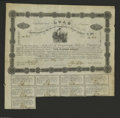 Confederate Notes:Group Lots, Ball 46 Cr. 79 $500 1861 Bond Very Fine. This type with Ceres atcenter had 901 issued....