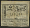 Confederate Notes:Group Lots, Ball 200 Cr. 125B $1000 1863 Bond Fine. This popular bond has a portrait of President Jefferson Davis and a vignette of Rich...