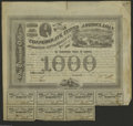 Confederate Notes:Group Lots, Two Confederate Bonds. Ball 201 Cr. 125 $1000 1863 Bond XF Ball 323Cr. 144 $1000 1864 Bond VF. Here are two popular bond... (2 items)