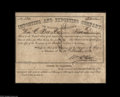 Confederate Notes:Group Lots, Charleston, SC- Importing and Exporting Company of South Carolina.This 1863 stock certificate was for five shares in the ca...