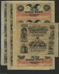 Obsoletes By State:Louisiana, Canal Bank Sheet Group Two. New Orleans, LA- Canal Bank $10-$10-$10-$10 18__ G26a-G26a-G26a-G26a Choice CU Uncut Sheet New... (4 sheets)