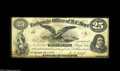 Obsoletes By State:Michigan, St. Joseph, MI- Exchange Office of B.C. Hoyt 25¢ May 1, 1861 A very scarce signed and issued example. Fine-Very Fine....