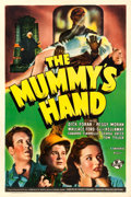 "Movie Posters:Horror, The Mummy's Hand (Universal, 1940). One Sheet (27"" X 41"").. ..."