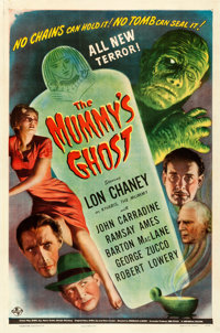 "The Mummy's Ghost (Universal, 1944). One Sheet (27"" X 41"")"