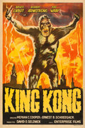 "Movie Posters:Horror, King Kong (Enterprise, R-1950s). Argentinean One Sheet (29"" X43"").. ..."