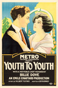 "Movie Posters:Drama, Youth to Youth (Metro, 1922). One Sheet (27"" X 41"").. ..."