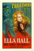 """Movie Posters:Drama, Her Soul's Inspiration (Universal, 1917). One Sheet (28"""" X 42"""")....."""