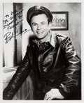 Movie/TV Memorabilia:Autographs and Signed Items, A Bob Crane Black and White Signed Photograph, Circa 1965....