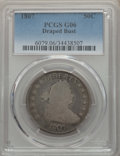 Early Half Dollars: , 1807 50C Draped Bust Good 6 PCGS. PCGS Population: (57/1629). NGCCensus: (20/858). Mintage 301,076. ...