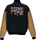 Music Memorabilia:Memorabilia, Page & Plant Miller Genuine Draft 1995 North AmericanCrew/Promo Tour Jacket....