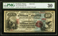 National Bank Notes:Maine, Portland, ME - $10 1875 Fr. 416 The Cumberland NB Ch. # 1511. ...