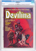 Magazines:Horror, Devilina #1 (Atlas-Seaboard, 1975) CGC NM+ 9.6 White pages....