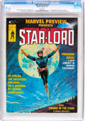Magazines:Science-Fiction, Marvel Preview #4 Star-Lord (Marvel, 1976) CGC NM+ 9.6 White pages....