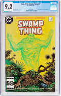 Modern Age (1980-Present):Horror, Saga of the Swamp Thing #37 (DC, 1985) CGC NM- 9.2 White pages....