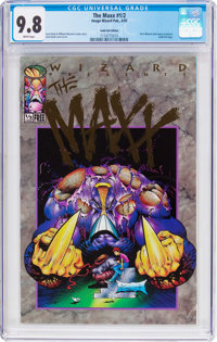 Maxx #2 Gold Foil Edition (Image, 1993) CGC NM/MT 9.8 White pages