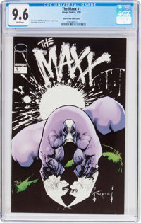 Maxx #1 Glow in the Dark Cover (Image, 1993) CGC NM+ 9.6 White pages