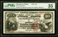 National Bank Notes:Maine, Thomaston, ME - $10 1882 Brown Back Fr. 480 The Georges NB Ch. #1142. ...