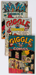 Golden Age (1938-1955):Miscellaneous, ACG Group Group of 9 (ACG, 1946-50) Condition: Average GD.... (Total: 9 Comic Books)