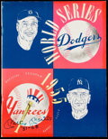 "Autographs:Others, 1955 World Series Program Signed by Mickey Mantle ""'51-'68"".. ..."