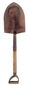 Paintings, Alison Saar (American, b. 1956). Spade Study-Darnell, 2002. Oil on shovel. 36-1/2 x 8-3/8 x 6-1/4 inches (92.7 x 21.3 x ...
