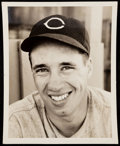Autographs:Photos, 1941 Bob Feller Spring Training Type I Photo.. ...