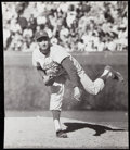 Baseball Collectibles:Photos, 1962 Sandy Koufax Vintage Photo from 18 Strikeout Game.. ...