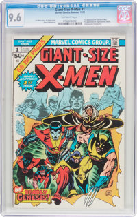 Giant-Size X-Men #1 (Marvel, 1975) CGC NM+ 9.6 Off-white pages