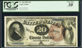 Large Size:Legal Tender Notes, Fr. 138 $20 1880 Legal Tender PCGS Very Fine 30.. ...