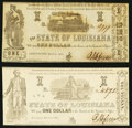 Obsoletes By State:Louisiana, Shreveport, LA- State of Louisiana $1(2) Mar. 1, 1864 Cr. 16; 18. ... (Total: 2 notes)